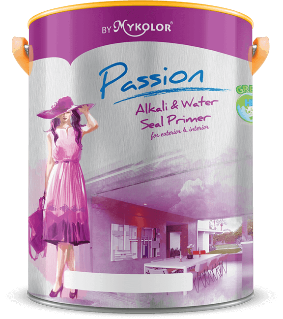 MYKOLOR PASSION  ALKALI & WATER SEAL PRIMER  FOR EXTERIOR & INTERIOR