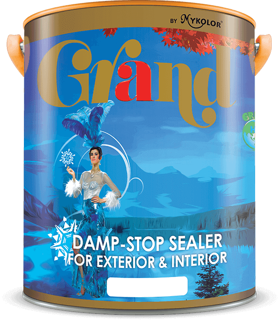 MYKOLOR GRAND | DAMP-STOP SEALER | FOR EXTERIOR & INTERIOR