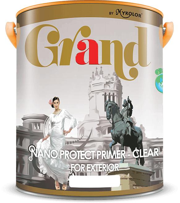 MYKOLOR GRAND | NANO PROTECT PRIMER-CLEAR | FOR EXTERIOR