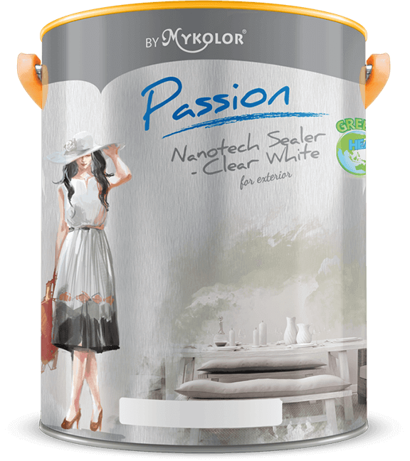 MYKOLOR PASSION | NANOTECH SEALER-CLEAR | FOR EXTERIOR