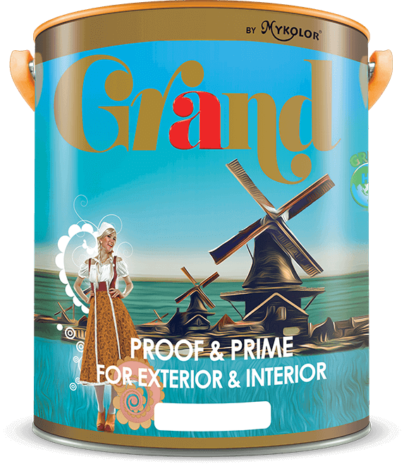 MYKOLOR GRAND | PROOF & PRIME | FOR EXTERIOR & INTERIOR