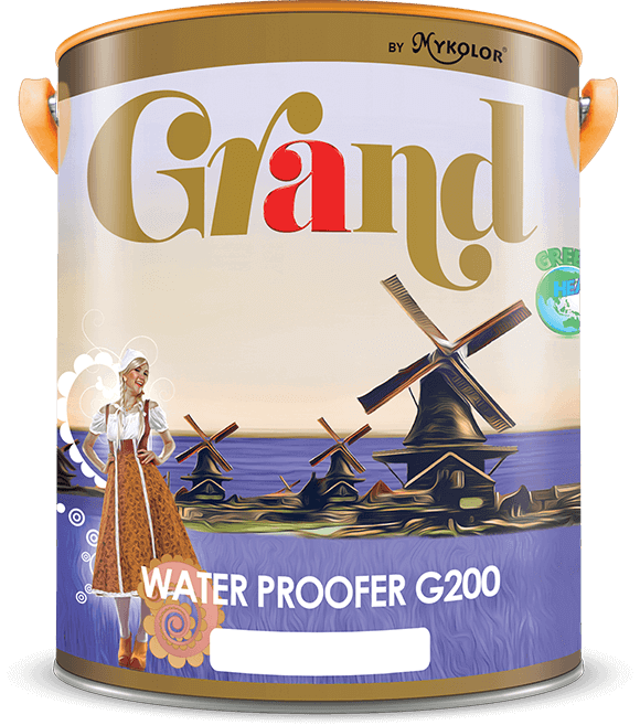 MYKOLOR GRAND | WATER PROOFER G200