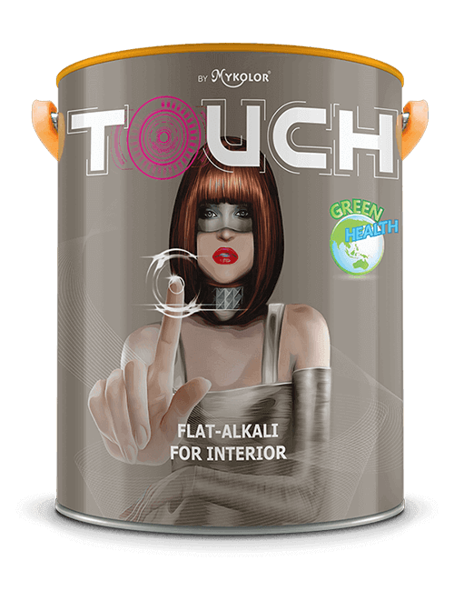 MYKOLOR TOUCH | FLAT - ALKALI | FOR INTERIOR