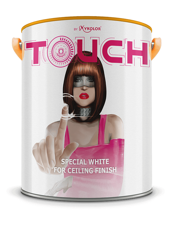MYKOLOR TOUCH  SPECIAL WHITE  FOR CEILING FINISH