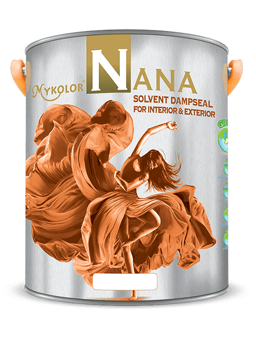 MYKOLOR NANA | SOLVENT DAMPSEAL | FOR INTERIOR & EXTERIOR