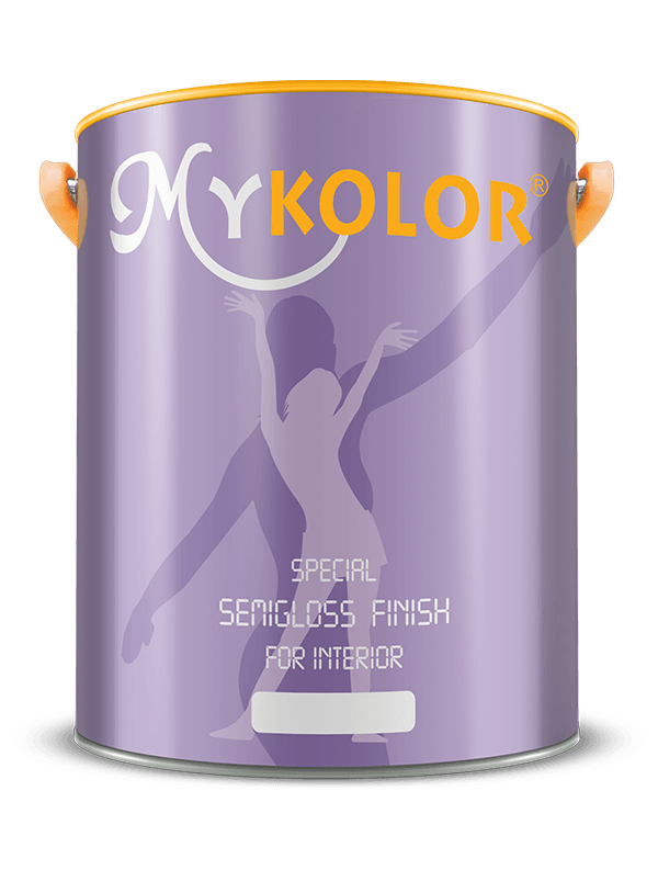 MYKOLOR  SPECIAL  SEMIGLOSS FINISH  FOR INTERIOR