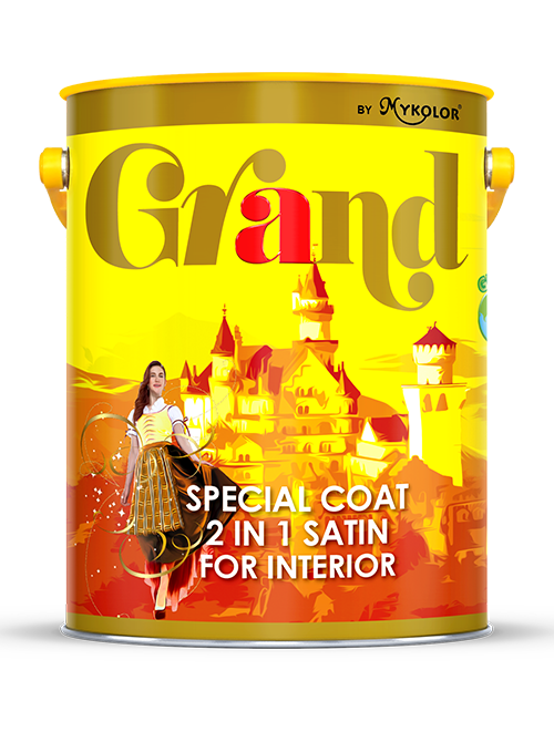 MYKOLOR GRAND | SPECIAL COAT 2 IN 1 SATIN | FOR INTERIOR