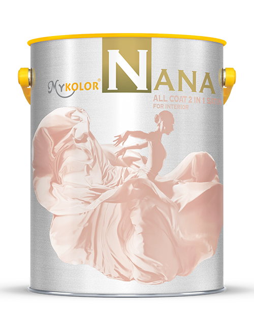 MYKOLOR NANA  ALL COAT 2 IN 1 SATIN  FOR INTERIOR