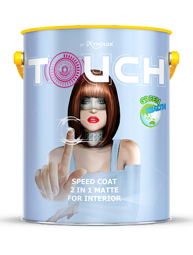 Mykolor Touch Speed Coat 2 in 1 Matte For Interior